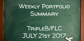 Weekly Performance Summary July 21st – sRs, Triple B, FLC