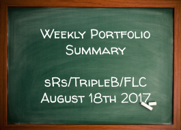 Weekly Performance Summary August 18th – sRs, Triple B, FLC