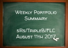 Weekly Performance Summary August 11th – sRs, Triple B, FLC