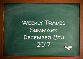 Weekly Trades Summary December 8th 2017