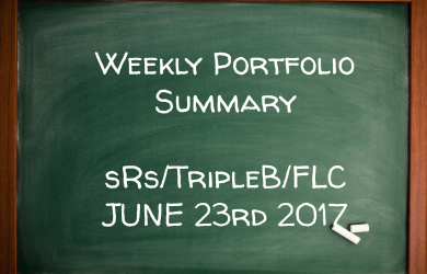 Weekly Performance Summary June 23rd – sRs, Triple B, FLC