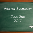 Weekly Summary June 2nd 2017