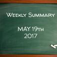 Weekly Summary May 19th 2017