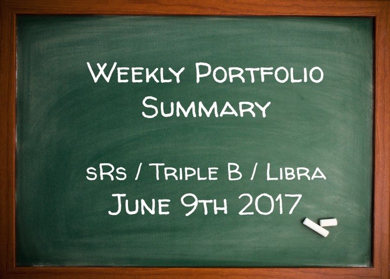 Portfolio Weekly Summary – sRs, Triple B, FLC
