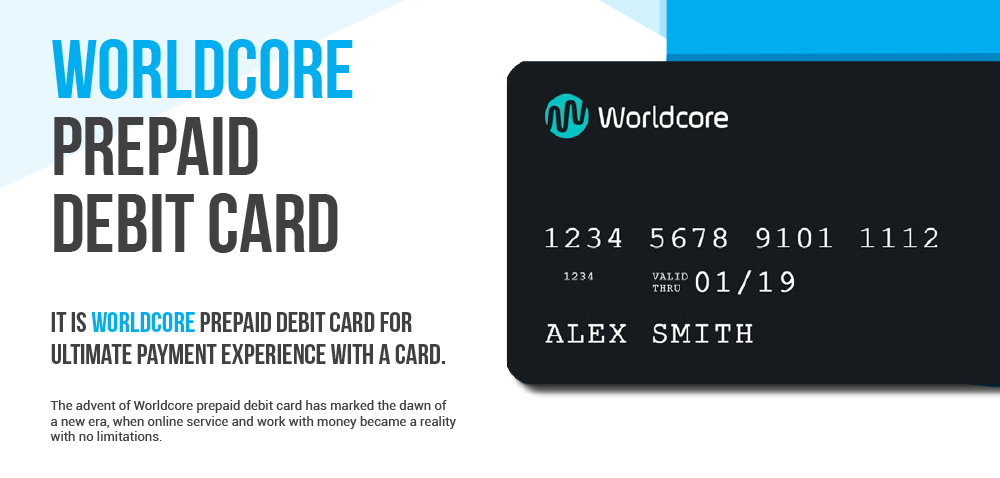 Worldcore Prepaid Card